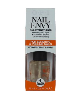 OPI Nail Envy Sensitive & Peeling Nail Strengthener test